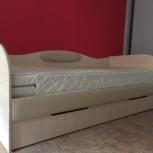 Кровать 95*200 + матрас, Новосибирск