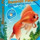 """Корм для рыб Рыбята """"Золотая рыбка"""" гранулы, Новосибирск"""