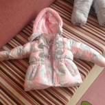 Продам зимний комбинезон для девочки, Новосибирск