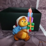 Продам елочную игрушку на елку komozja Мишка, Новосибирск