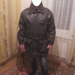 Зимняя кожаная куртка, Новосибирск