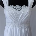Свадебное платье силуэт ампир белое, Новосибирск