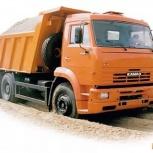Доставка песка,щебня,отсева и других сыпучих материалов, Новосибирск