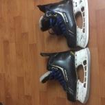 Продам детские хоккейные коньки, Новосибирск