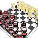 """Подарочный набор """"пьяные шахматы""""., Новосибирск"""