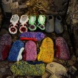 Пинетки, следки, носочки детские, для женщин и муж, Новосибирск