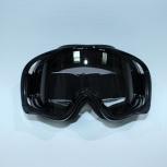 Очки кроссовые Vega MJ-18 черные линза прозрачная, Новосибирск