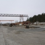 кран козловой ККС-10, Новосибирск