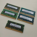 Память Mac Memory 4 планки по 1Gb и 1 планка 2Gb, Новосибирск