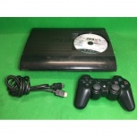 Приставка Sony PlayStation 3 Super Slim 500Gb, Новосибирск