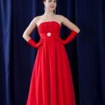 Красное вечернее платье напрокат, Новосибирск