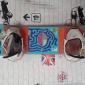Детский сноуборд+крепления Burton 13-14 After School, Новосибирск