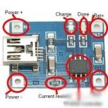 Контроллер заряда USB TP4056, Новосибирск