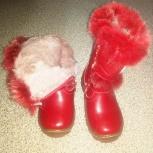 Продам зимние сапожки на девочку, размер 28, Новосибирск