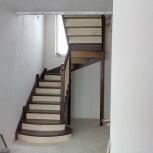 Изготовление деревянных лестниц, Новосибирск