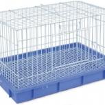 Клетка для кроликов 56*34*37 см TRIOL, Новосибирск