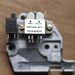 Блок сендастовых магнитных головок, для кассетных дек Pioneer, Новосибирск