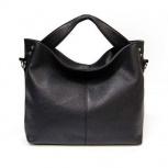 Оригинальная кожаная сумка A. Valentino черная, Новосибирск