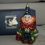 Продам елочную игрушку на елку komozja  Клоун, Новосибирск