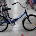 Складной велосипед  stels 710  практически новый, Новосибирск