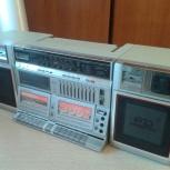 Магнитола Sharp WF-939z(s) made in Japan 1986 год, Новосибирск