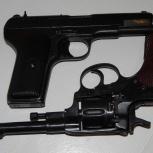 """Револьвер сигнальный МР-313 """"НАГАН-07"""" 1944г., Новосибирск"""