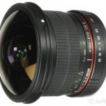 Samyang 8mm f/3.5 AS IF UMC Fish-eye CS II (Canon), Новосибирск