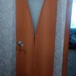 Дверь межкомнатная, б/у, 600 мм., Новосибирск