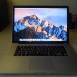 Продам Macbook Pro 15 Retina, Новосибирск
