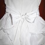 Платье праздничное. Белое 134, Новосибирск