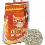 Наполнитель Сибирская кошка для котят впитывающий, Новосибирск