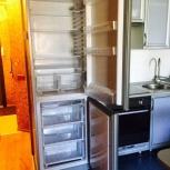 Продам холодильник с нижней морозильной камерой indesit ib 201 s, Новосибирск