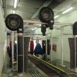 Продается (б/у) оборудование туннельной мойки (США), Новосибирск