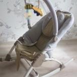 Продам шезлонг детский baby hit cozy, Новосибирск
