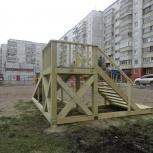 деревянная горка, Новосибирск
