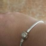 Продам браслет Пандора без шармов, новый, Новосибирск