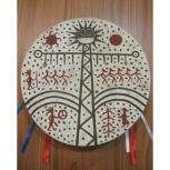 Бубен шаманский - 25 см, Новосибирск