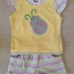 Продам комплект (шорты и футболку) Zeplin 12мес(80см), Новосибирск
