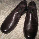 Туфли KeiViu тёмновишнёвые натуральная кожа 38.5р, Новосибирск