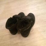 Зимние ботинки из замши с мехом внутри, Новосибирск