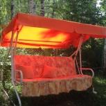 Тент для качели, крыша тент для качелей садовых, тенты  дачных качелей, Новосибирск