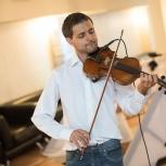 Услуги диджея, скрипка в подарок, аренда аппаратуры, Новосибирск
