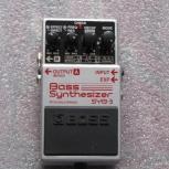 Аналоговый синтезатор BOSS   Bass Synthesizer SYB-5, Новосибирск
