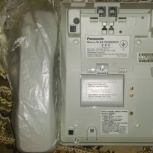 Новый проводной телефон Panasonic c ЖК-дисплеем, часами, спикерфоном, Новосибирск