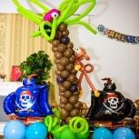 Оформление праздников воздушными шарами, Новосибирск