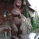 скульптура и мебель из массива для загородного дома, Новосибирск