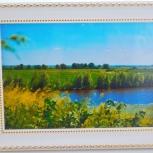"""Картина """"Родной край"""", Новосибирск"""