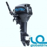 Корейский лодочный мотор mikatsu m9.8fhs 2 т. гарантия 5 лет, Новосибирск