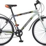 """Велосипед stinger 26"""" defender; 18""""; серый; ty21/rs35, Новосибирск"""