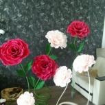 Ростовые цветы, оформление фотозон, для свадьбы, Новосибирск